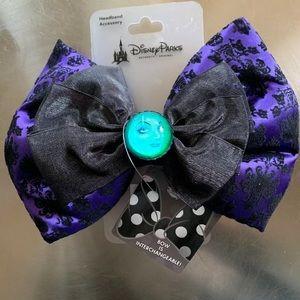 Disney Haunted Mansion Madame Leota Bow